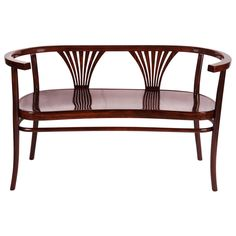Thonet Bentwood Settee, circa 1900 | From a unique collection of antique and modern settees at https://www.1stdibs.com/furniture/seating/settees/