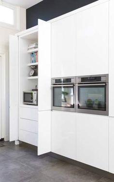 Functionele Strakke Wandkast Keuken