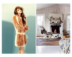 Fashion vs interior - fur