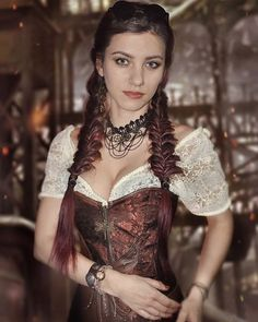 Bejeweled steampunk miss Couture Steampunk, Steampunk Mode, Style Steampunk, Steampunk Cosplay, Steampunk Wedding, Victorian Steampunk, Steampunk Clothing, Steampunk Fashion, Victorian Fashion