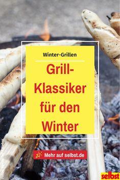 Grillsaison ist das ganze Jahr über mit diesen leckeren Grill-Klassikern für die Winterzeit! #grill #grillen #grillrezepte #rezept #wintergrillen #winter #stockbrot #selbst Grilling, Bbq, Cooking, Recipes, Winter Time, Round Round, Travel Destinations, Cooking Recipes, House