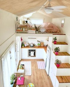 You know the tiny house movement? These little houses are one - You know the tiny house movement? These little houses are one - Home, Small Spaces, House Inspiration, Home Bedroom, House Design, Interior, Little Houses, House Interior, Tiny House Bedroom