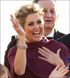 Diamanten armbanden koningin Máxima - deel 6