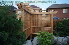Custom deck design, pergolas, fences, outdoor kitchens, landscaping and interlocking in Toronto
