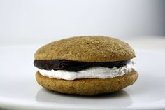 S'mores Whoopie Pies (dammit what a great idea!)