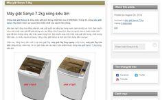 Máy giặt Sanyo 7.2kg sóng siêu âm ASW-U72ZT, ASW-U72NT http://suamaygiatsanyo7kg.blog.com/2014/08/28/may-giat-sanyo-7kg-song-sieu-am/