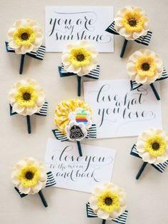 Boutonnières by Vatel Manila #jlucasreyes #asyapremier #boracayweddings #bouts #yellow #sunshine
