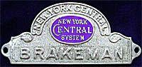 NYC Brakeman Badge