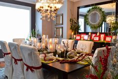 Homes for the Holidays 2012- Edmonton - traditional - dining room - edmonton - AMR Design