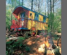 robin robert's gypsy wagon   fanciful roulotte , or Gypsy wagon, invites visitors to stop and ...