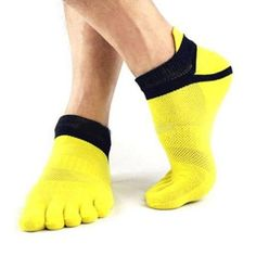 Underwear & Sleepwears Shop For Cheap 1 Pair New Arrival Mens Ankle Low Casual Five Finger Socks Men Mesh Style Toe Socks Suitable For Four Seasons Socks 6 Colors Buy One Get One Free