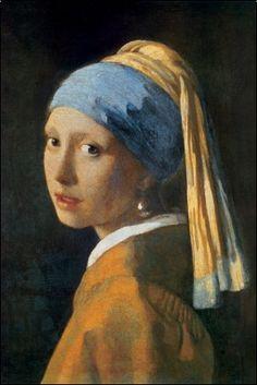 Jan Vermeer. Girl with pearl earing