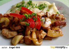 Krůtí po uzenářsku No Salt Recipes, Kung Pao Chicken, Pork, Treats, Cooking, Ethnic Recipes, Sweet, Kale Stir Fry, Sweet Like Candy