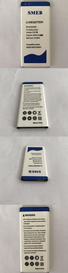 Original SMEB Phone Battery EB-BG850BBC For Samsung Galaxy Alpha G850 SM-G850F G8508S G850M 4800mAh Best Quality High Capacity