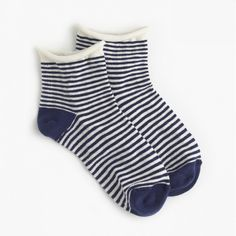 12 Pairs of Cute Socks to Wear With Your Fall Boots: Gingham Rolled-Cuff Ankle Socks