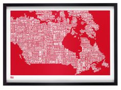 Map of #Canada