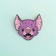 Caitlin Stout: Bat pin