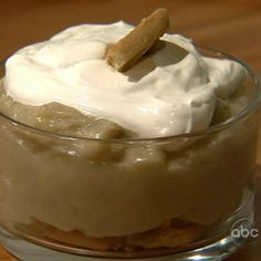 the chew | Recipe  | Carla Hall's Banana Puddin'