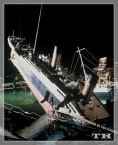 Destino Dos Navios: Filmagens Do Filme Titanic 1997