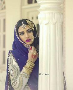 nose ring, indian bride, and muslim bride image Pakistani Bridal Wear, Pakistani Wedding Dresses, Indian Bridal, Wedding Hijab, Wedding Makeup, Bridal Outfits, Bridal Dresses, Muslim Brides, Indian Muslim Bride