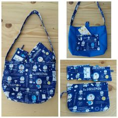 Got doraemon fabric, first for apron then make tote bag for my imoto birth. Hope u like it