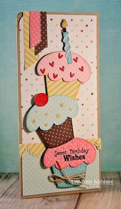 Snappy Scraps: Terrific Tuesday Challenge at Scrappy Moms Happy Birthday Cards Handmade, Creative Birthday Cards, Beautiful Birthday Cards, Birthday Cards For Mom, Creative Cards, Greeting Cards Handmade, Happy Birthday Crafts, Quilling Birthday Cards, Birthday Wishes