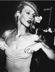 Jerry Hall en janvier 1979