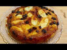 VOLTEADO DE PLÁTANO (sin horno ) - YouTube Pasta, Different Recipes, Cheesecakes, Tofu, French Toast, Deserts, Pie, Breakfast, Bananas