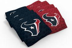 Houston Texans Cornhole Bags - Pigskin