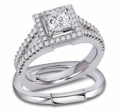 From engagement rings and wedding bands to fine jewelry for men and women, Valina is your online jewelry store. Diamond Rings, Diamond Cuts, Gold Ring, Cute Engagement Rings, Rings Cool, Princess Cut Diamonds, Selling Jewelry, Jewelry Trends, Ring Designs