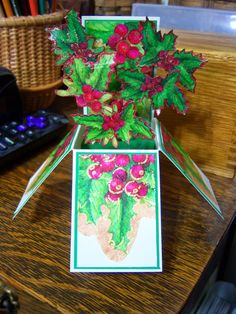 Sundaystamper  Papercrafts: The CARD IN A BOX comes again...