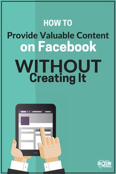 Want more engagement on your Facebook Fan Page? One key is providing valuable content. Here's how to do it without having to create it!