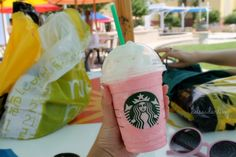 Cotton candy frap