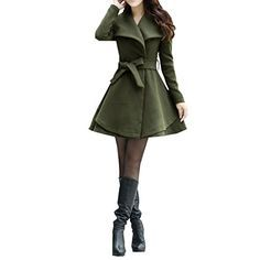 Damen Turndown Collar Wintermantel Winterjacke Trenchcoat, 36,green Jetor http://www.amazon.de/dp/B00QYT6V40/ref=cm_sw_r_pi_dp_f8YYub0HS4BWT