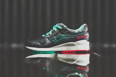 """2d33137d0123 Awhile back we told you that these """"Future Camo"""" Asics Gel Lyte IIIs were  available for pre-order in some of the bigger Asics accounts"""