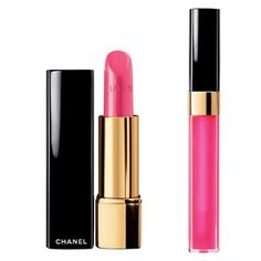 pink chanel lipstick and lip gloss I wear Chanel Lip Gloss, Chanel Lipstick, Pink Lip Gloss, Chanel Makeup, Pink Lips, Cute Lipstick, Hair Spa, Hair And Nails, Pretty In Pink