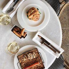 Comida en una de las terrazas de hotel más bonitas de Madrid 🍽👉🏼 @theprincipalmadrid #AticobyRamonFreixa