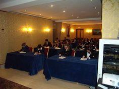 I concorrenti durante lo svolgimento della prova scritta- V° GPAV @ Hotel Amadeus di Venezia.