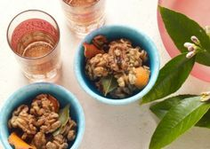 Orange, Bay, and Spice-Brined Walnuts #recipe #partyfood #entertaining
