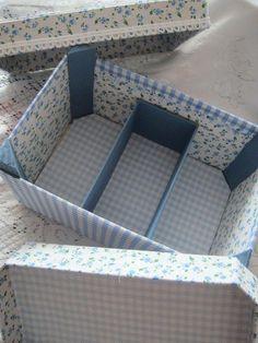 Tuto pour transformer une cagette en boîte à couture