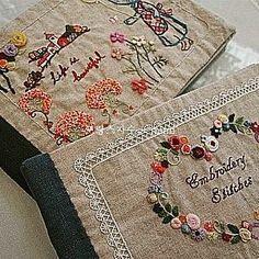 #embroidery#stitch#needlework#stitch book #프랑스자수#일산프랑스자수#자수#기본스티지북 #수강생분의 스티치북 드뎌 완성 !! ~ 축하축하해요^^~