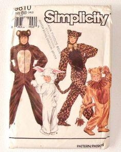Patron simplicity animaux