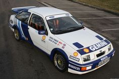 Ford Sierra RS Cosworth | All Racing Cars Classic Sports Cars, Classic Cars, Ford Sierra, Colin Mcrae, Rally Car, Car Pictures, Cars And Motorcycles, Race Cars, Racing
