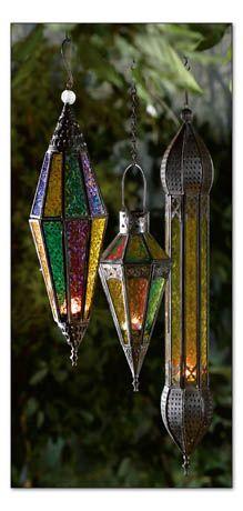 Casbah Lanterns: Diamond, Marquise, and Minaret shaped