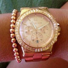 michael kors rose gold jewelry