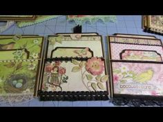 paper bag card share - YouTube. This is a pictorial only, but easy to figure out. They are beautiful, looks easy and fun.