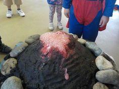 Erupting volcanoes at Chadwell Pre-school
