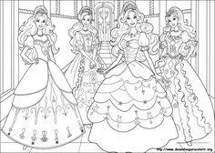 Desenhos para colorir - Imprimir desenhos da Barbie - Desenhos para Colorir