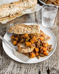Maple Baked Lentils with Sweet Potato – Healthy Comfort Food