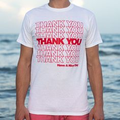 d87f2ece895d Thank You Bag T-Shirt by 6 Dollar Shirts. Thousands of designs available  for men
